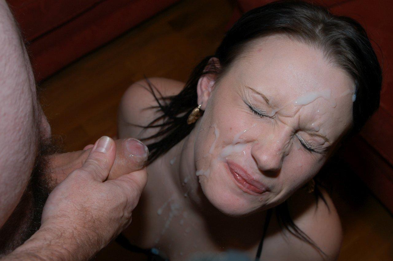 Homemade Amateur Facial Porn Photo