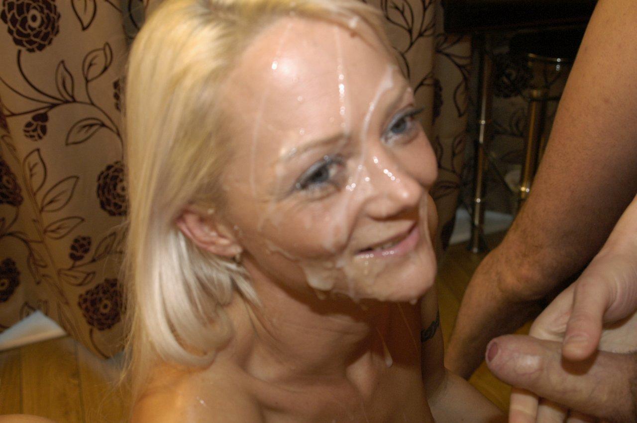 British blonde wife has surprise bbc gangbang 7